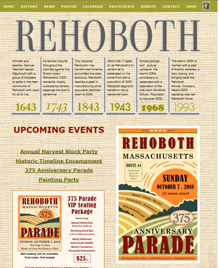 Rehoboth375-Website