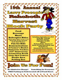 Harvest Block Party