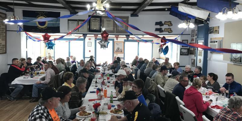 Veterans Service Office & American Legion Post 302 Hosts Veterans Day Dinner