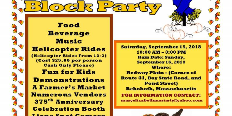 20th Annual Block Party